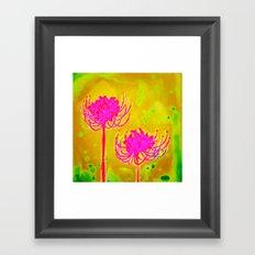 Spider Lily Flowers Framed Art Print