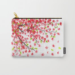 cherry blossom painting Carry-All Pouch