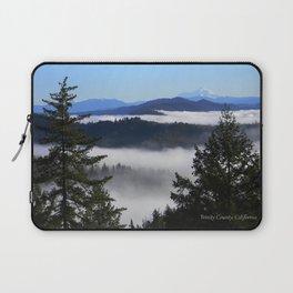 Bird's eye view of Mount Lassen.... Laptop Sleeve