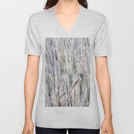 Silver hair grass Unisex V-Neck
