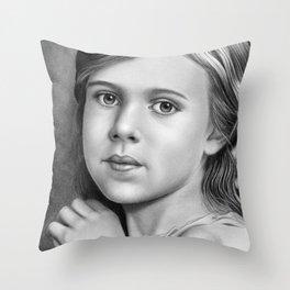 Child Portrait 01 Throw Pillow