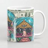 illuminati Mugs featuring IllUmiNaTi by CREATOROFARTS