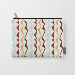 Jagged Stripes Carry-All Pouch