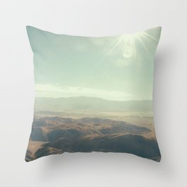 Until we meet again in the unknown Throw Pillow