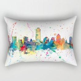 Austin Texas Skyline Rectangular Pillow