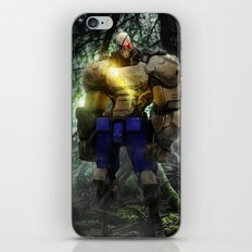 Mecha series // Sagat iPhone & iPod Skin