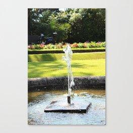 Dancing Water Canvas Print