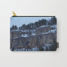 SnowCapped Carry-All Pouch