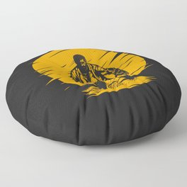 Yellow Logan Floor Pillow
