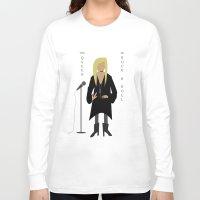 stevie nicks Long Sleeve T-shirts featuring Stevie Nicks by Sarah Duet