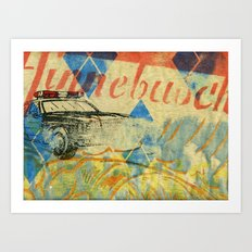 Hinnebusch Logo Art Print