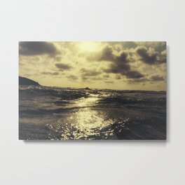 Sunset Seascape Metal Print
