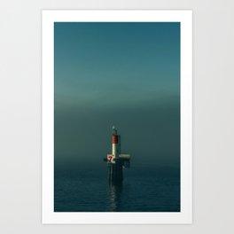 Northwest Channel Marker Art Print