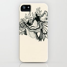 Psychedelic Coral iPhone Case