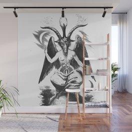 Baphomet - Satanic Church Wall Mural