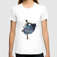 ballerina T-shirts featuring Ballerina  by Kelly Baskin