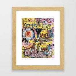 Life Time Value Framed Art Print
