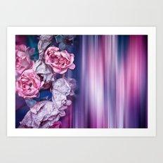 ROSES IMPRESSIONS Art Print