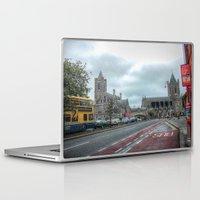 dublin Laptop & iPad Skins featuring Dublin by Christine Workman