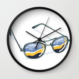 Refuge Of The Road Wall Clock