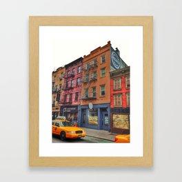 Bleecker Street Framed Art Print