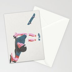 skateboarding 3 (lost time, risograph) Stationery Cards