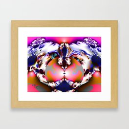Benji Framed Art Print