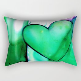 Heart Dreams 1E by Kathy Morton Stanion Rectangular Pillow