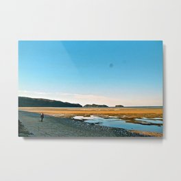 On the Peak of Abel Tasman National Park Metal Print