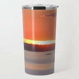 Swedish Archipelago Sunset Travel Mug