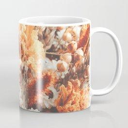 Warm Autumn Dried Flowers Photography Coffee Mug