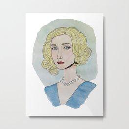 Norma Bates, Bates Motel Metal Print