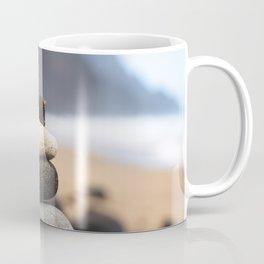 Stones On Beach Coffee Mug