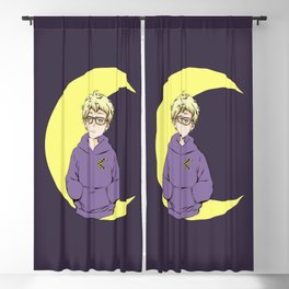 Moon Boy Blackout Curtain