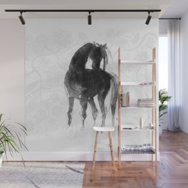 Horse (Little Black Mare) Wall Mural