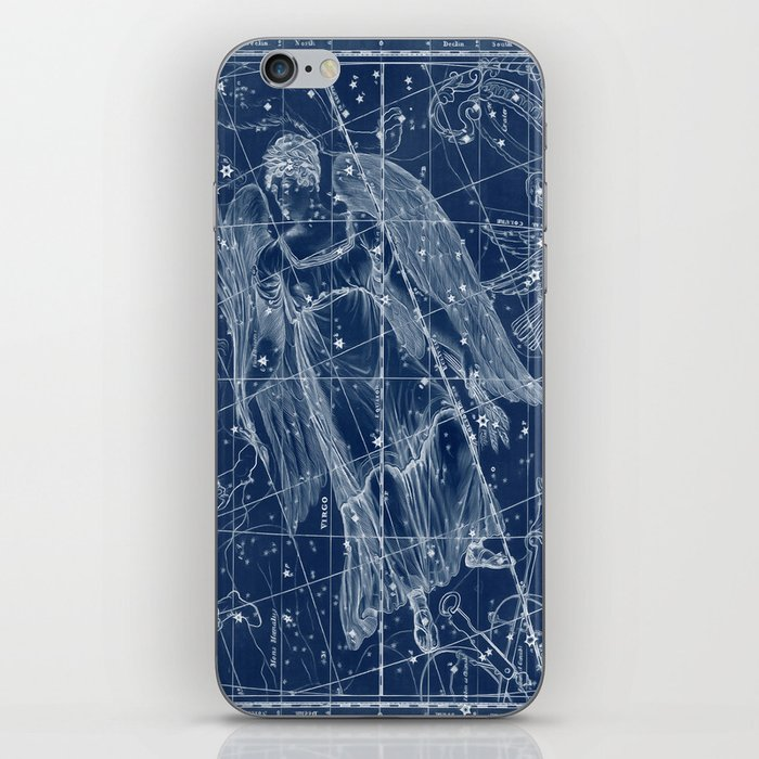 Virgo Sky Star Map IPhone Skin By Catyarte Society - Star map iphone