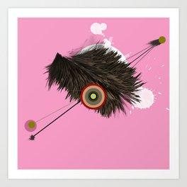 Abstract Fur Art Print