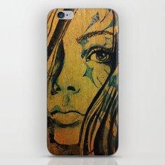 Azurite iPhone & iPod Skin