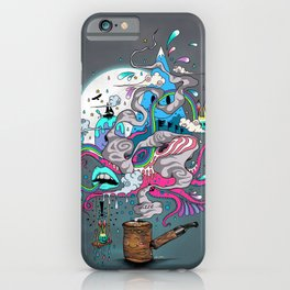 Pipe Dreams iPhone Case