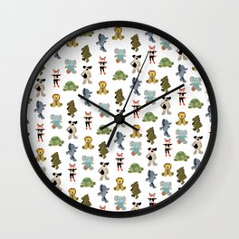 Owen Animals Wall Clock
