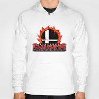 nintendo Hoodies featuring Nintendo Smashers by Alecxps