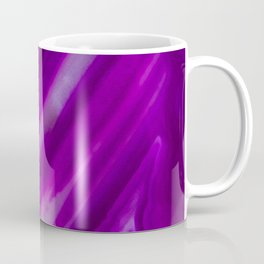 Purple Neon Geode Raw Crystal Stone Agate Amethyst Fine Art Print Coffee Mug