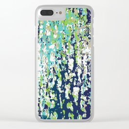 Paint Brush #2 Clear iPhone Case