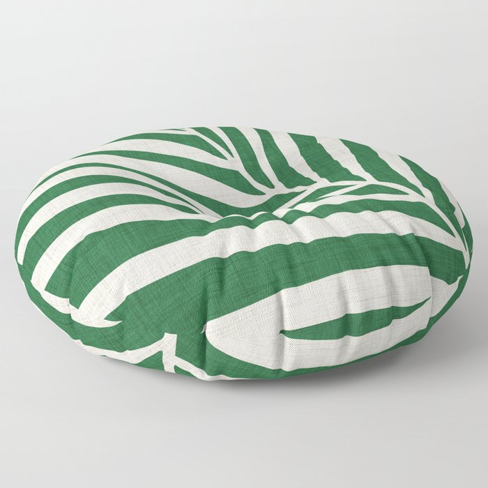 Minimalist Palm Leaf Floor Pillow