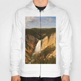 Majestic Yellowstone Upper Falls Hoody