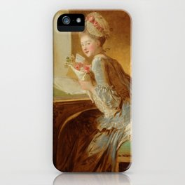"Jean Honoré Fragonard (1732–1806) ""The Love Letter"" iPhone Case"