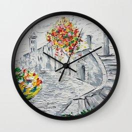 Ancient Jerusalem Mug   Ancient City Landscape Painting Wall Clock