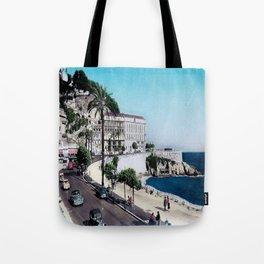 1950's Vintage Nice France Tote Bag