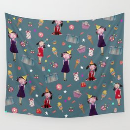 The rag doll Wall Tapestry
