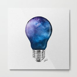Miagical lamp. Metal Print